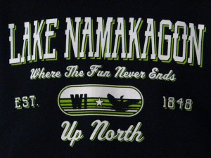 Lake Namakagon Where The Fun Never Ends Sweatshirt