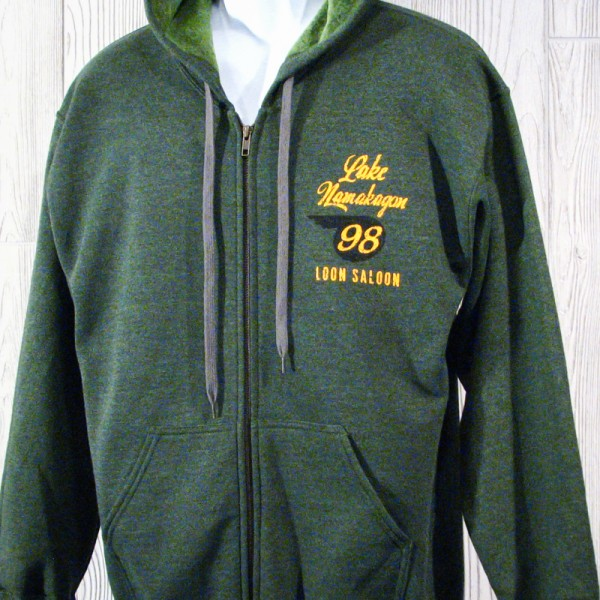 Downtown Original Lake Namakagon Full Zip Sweatshirt