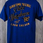 Downtown Original Lake Namakagon T-Shirt  Blue Back