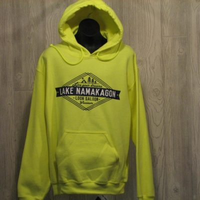 Safety Grn Lake Namakagon Hoody Signa  $39.95
